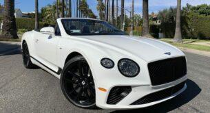 Bentley GTC Mulliner front TD