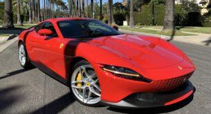 Ferrari Roma front