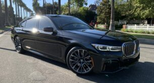 BMW 740 front