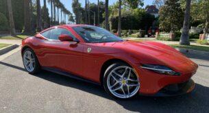 Ferrari Roma redblack front